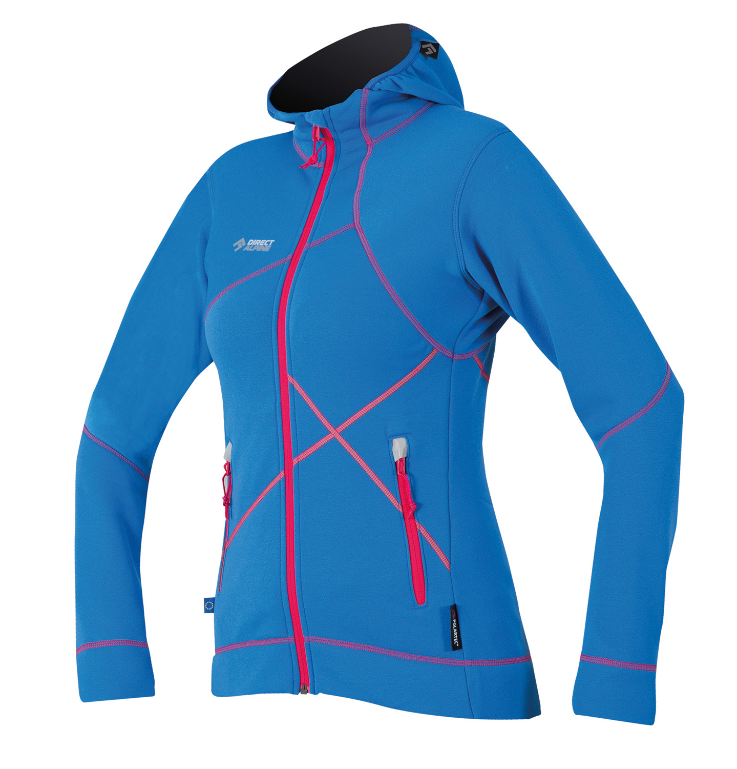 a193646065873 An innovative ladies sports jacket for increased warmth and comfort.  Suitable as a second layer or lightly insulated top layer during spring or  fall.